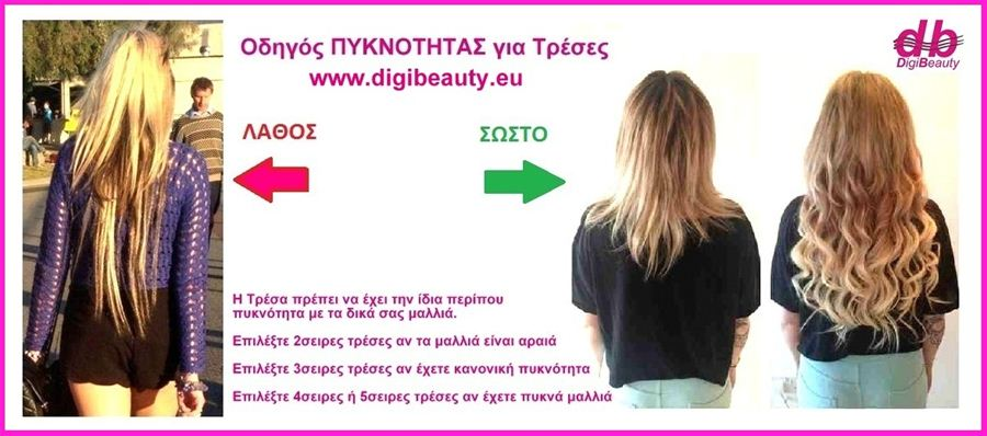 Digibeauty Guide Length Width Density For Purchase Hair Extensions